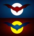 image an bat design vector image