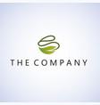 leaf logo ideas design on background vector image vector image