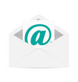 letter mail vector image
