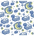 Moons and clouds vector | Price: 1 Credit (USD $1)