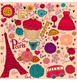 Paris background vector | Price: 3 Credits (USD $3)