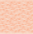 pink and red horizontal hand drawn stripes vector image vector image