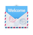 Welcome concept vector image