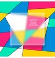 Multicolor Design Templates vector image