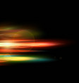 abstract smooth red blue yellow motion light vector image