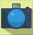camera flat design vector image