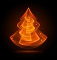 Fraktal NG tree 04 vector image