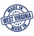made in West Virginia vector image vector image