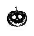 pumpkin ghost icon concept for vector image vector image