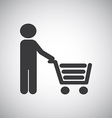 shopping graphic vector image vector image