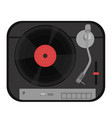 turntable isolated on white background graphics vector image