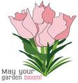 Garden Bloom vector image