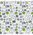 Green Sticker mobile apps vector image vector image