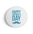 happy fathers day festive banner template vector image vector image