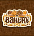 logo for bakery vector image vector image