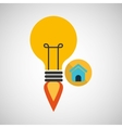 creativity idea business page web vector image