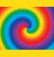 abstract swirl color radial gradient rainbow vector image vector image