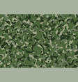 army camouflage background pattern green camo vector image