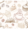 bakery seamless vector image vector image