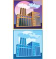 factories vector image vector image