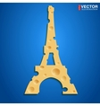 French cheese vector image