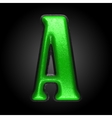 green plastic figure a vector image