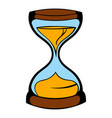 hourglass icon icon cartoon vector image vector image