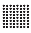 polka dot icon on white background flat style vector image