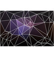purple brown black geometric background with mesh vector image