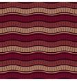 Seamless Wavy Marsala Pattern vector image vector image