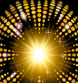 Version disco background with light effects vector image vector image
