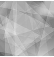 abstract gray triangle background vector image vector image