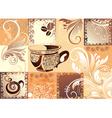 coffee illustration vector image vector image