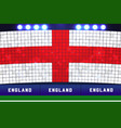 england soccer or football stadium background vector image