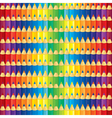 pencil pattern vector image vector image