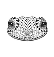 Zentangle stylized frog Sketch for tattoo or t