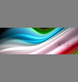 creative line art banner background abstract vector image vector image