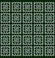 linoleum seamless pattern geometric mosaic vector image vector image