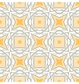 Pattern with bold geometric shapes in 1970s style vector image vector image