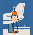 travel concept image vector image vector image