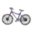 bicycle or bike realistic vector image