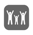 flat icon family vector image