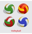 volleyball ball isolated on a white background as vector image