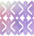 abstract watercolor geometric hipster background vector image vector image