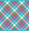 baby color check fabric pixel texture seamless vector image vector image
