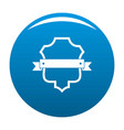 badge guardian icon blue vector image vector image