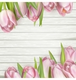 Beautiful tulips EPS 10 vector image vector image