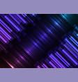 dark rainbow speed bar overlap in dark background vector image vector image