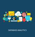 database analytics flat concept