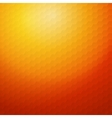 Geometric orange background for design EPS10 vector image vector image
